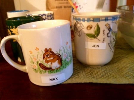 Residents get their own mugs. I get my own MaxPosner.