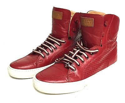 bally-men-s-red-leather-elwin-high-top-sneakers-sz-8-08c254528c9cf018d60736070df2e3cf