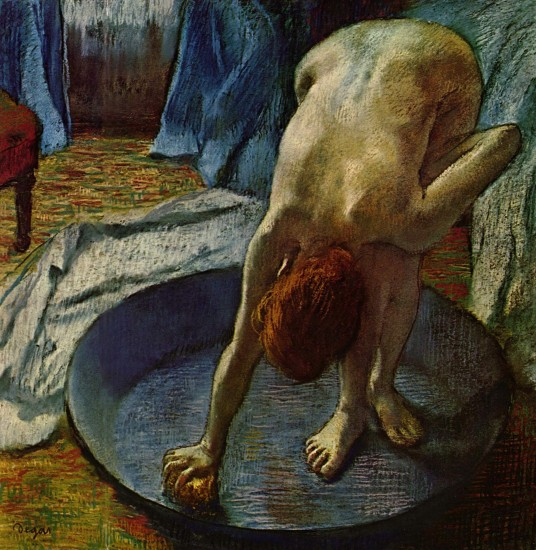 Edgar Degas - Woman in the Bath // Hill-Stead Museum, CT