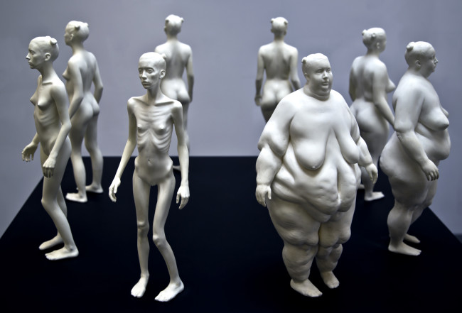 Ted Lawson sculpture - cast resin, 2011