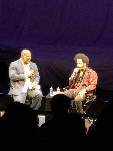 Boots Riley with Jelani Cobb